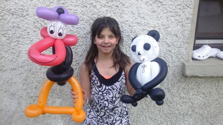 Ballonkünstler mieten & vermieten - Luftballonfiguren der Extraklasse & Kindershow, Kinder Party, Kinderdisco, Luftballons, Ballontiere, Ballonkünstler, Ballon Modellage, Zauberer, Hüpfburg, Torwand, Tattoos in Herbertingen