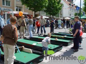 Minigolf mieten & vermieten - Minigolf Mobil (6 Bahnen) in Herdecke