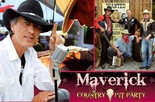 Bands mieten & vermieten - Country Music Show Mavericks  in Burscheid