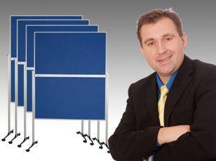 Pinnwand mieten & vermieten - 20´er Pinnwand / Moderationstafel im Set in Wesel