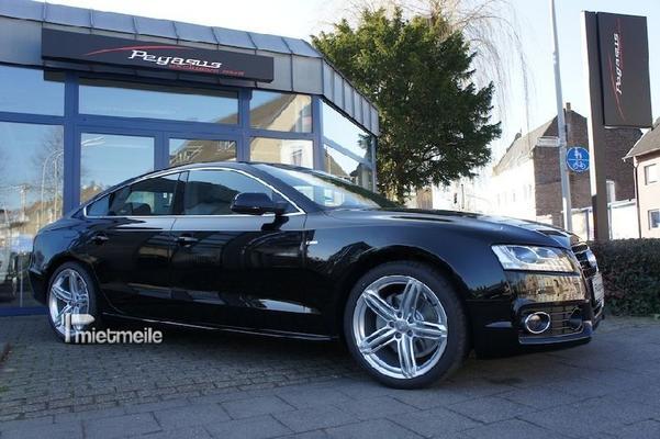 Limousinen mieten & vermieten - Audi A5 3.0 TDI Sportback LANGZEITMIETE in Mönchengladbach