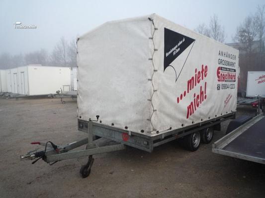 Planenanhänger mieten & vermieten - Nr.08 Planenanhänger 500x200x180 cm 3000 kg  in Aurach