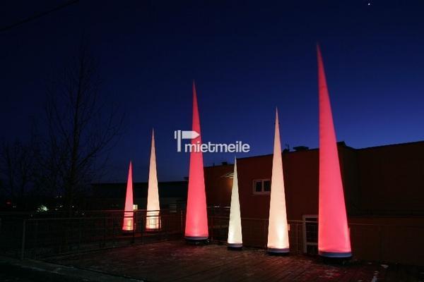 Aufblasbare Dekoration mieten & vermieten - Aircones zum mieten in Würzburg in Eibelstadt